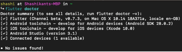 Flutter tutorial: Step-by-step guide to kick off your first Flutter