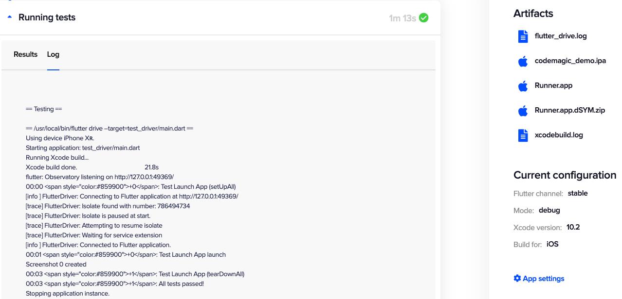 Flutter UI Testing - Codemagic blog