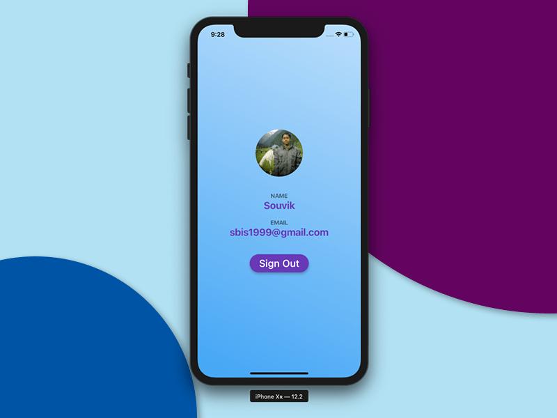 FirstScreen UI