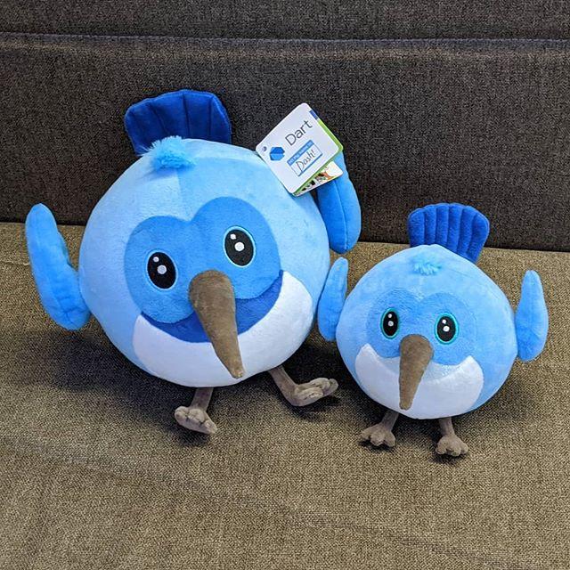 Dash mascots