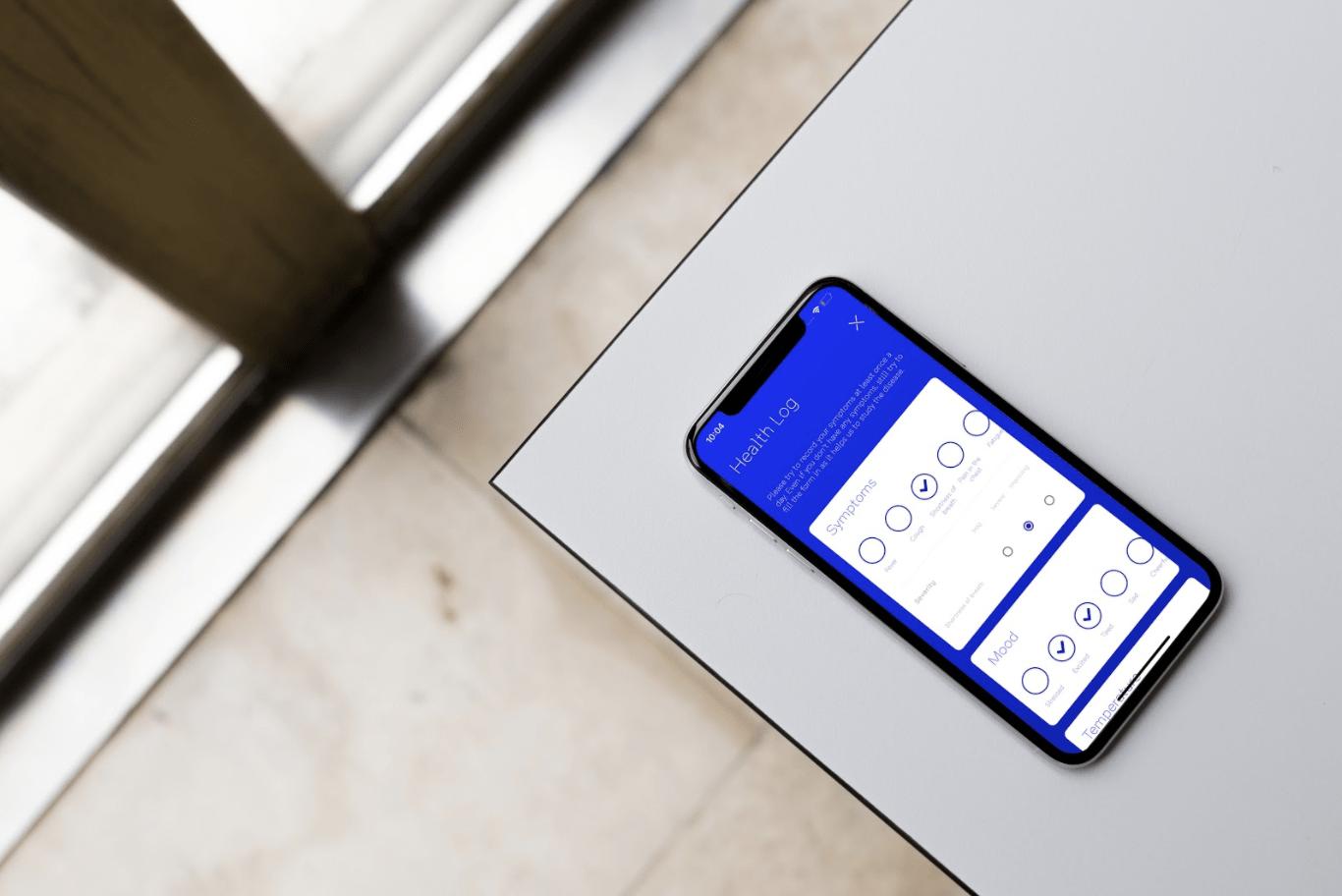 Corona-tracker app
