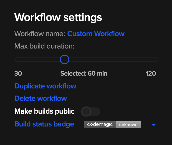 Duplicating workflows