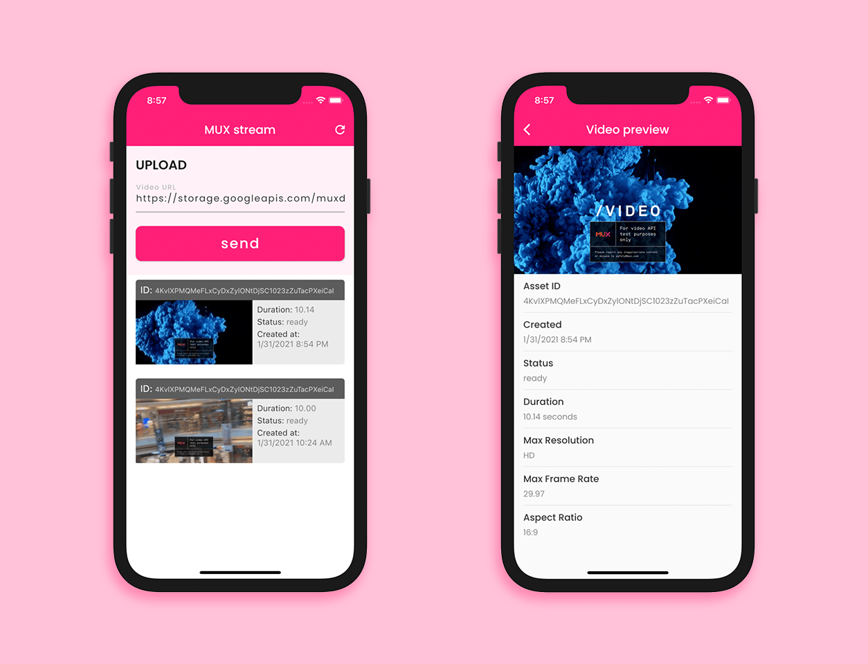 Build a video streaming app with Flutter and Mux: home page and preview page