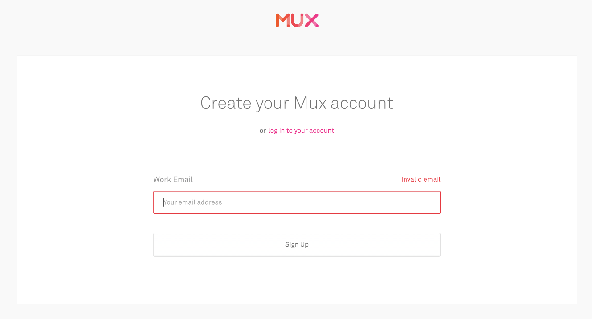 To build a video streaming app with Flutter and Mux you first need to create an account
