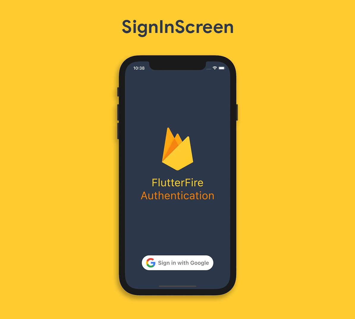 SignInScreen layout