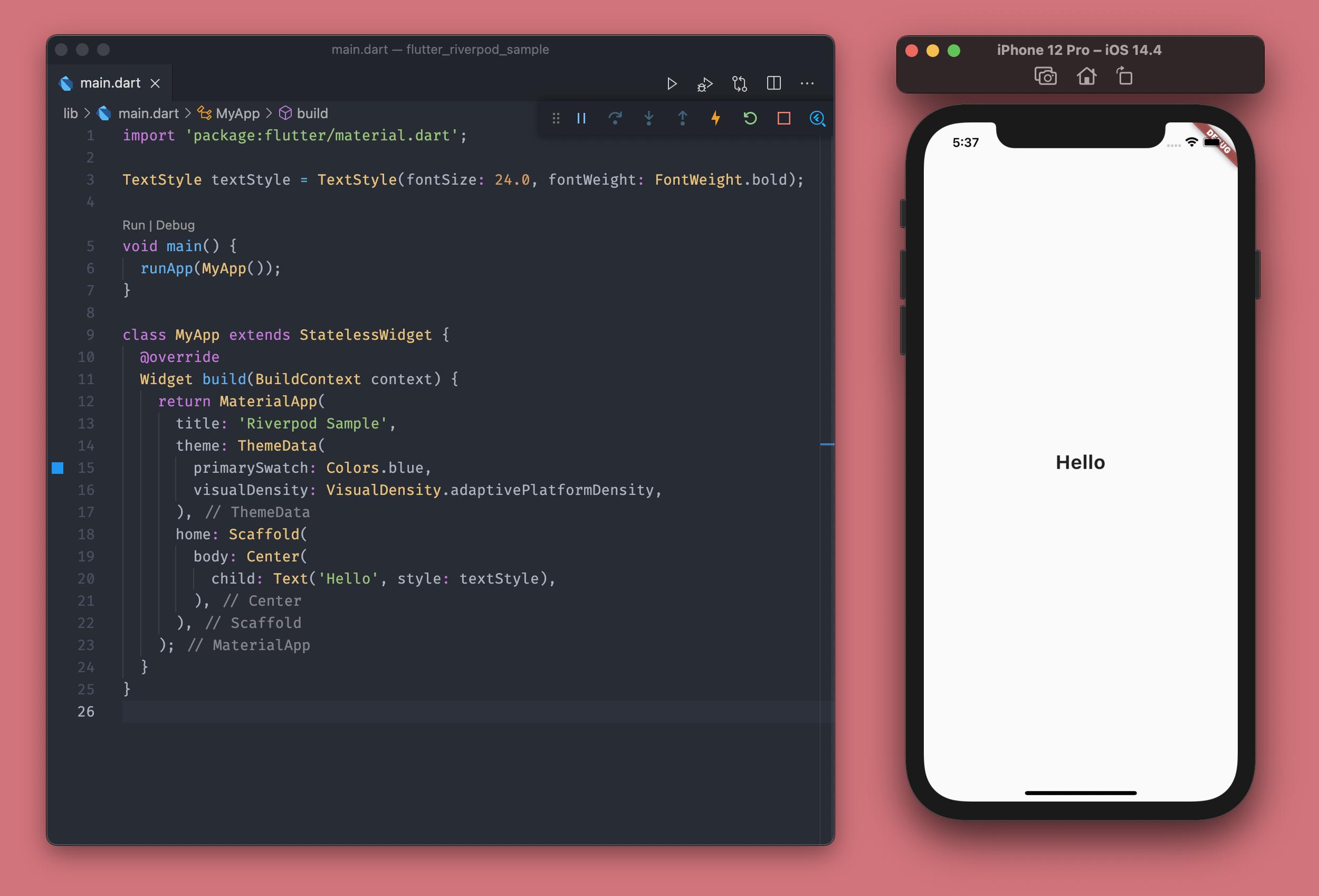 Starter code