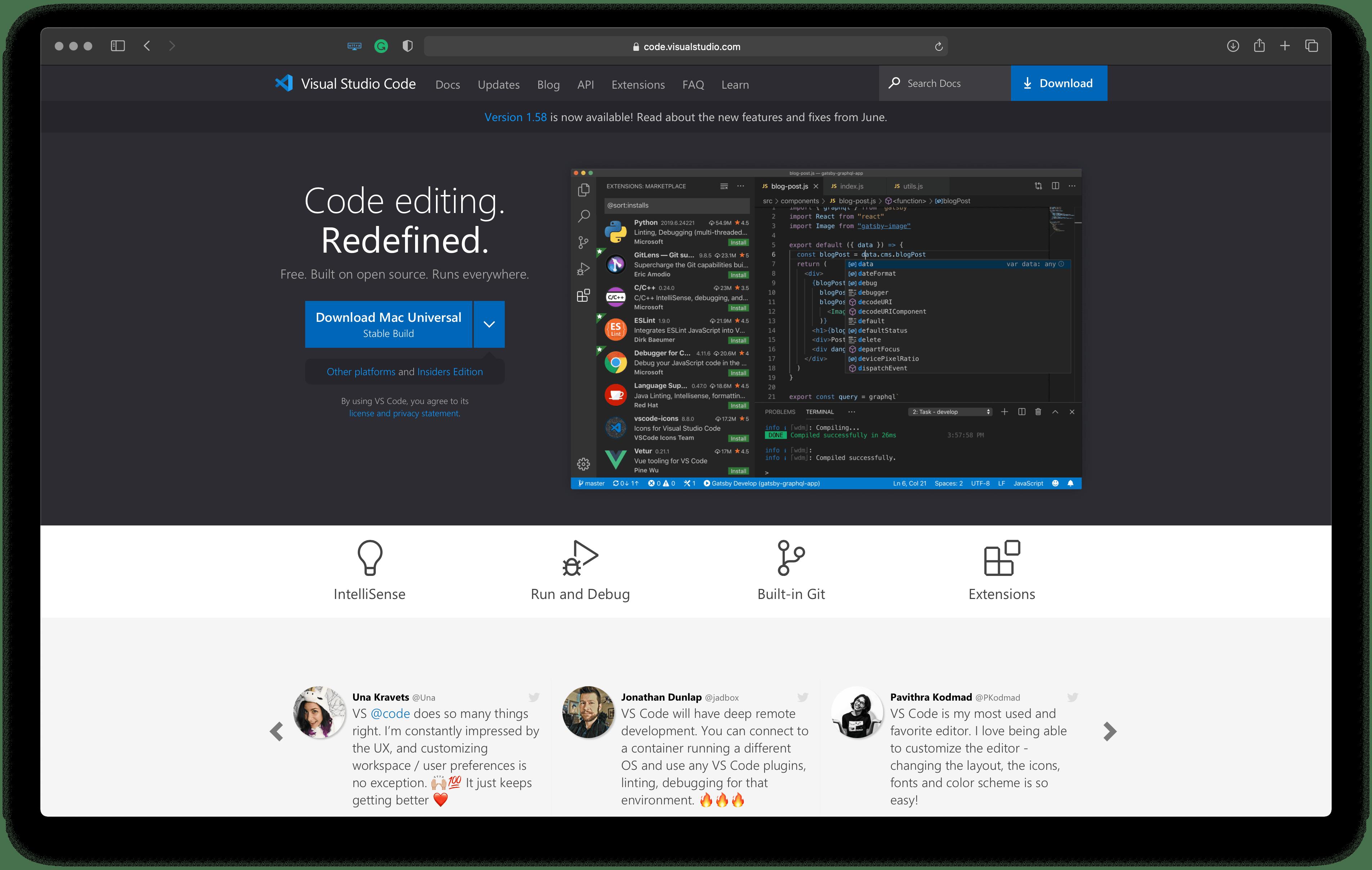 Best tools for Apple platforms developers: VSCode – IDE