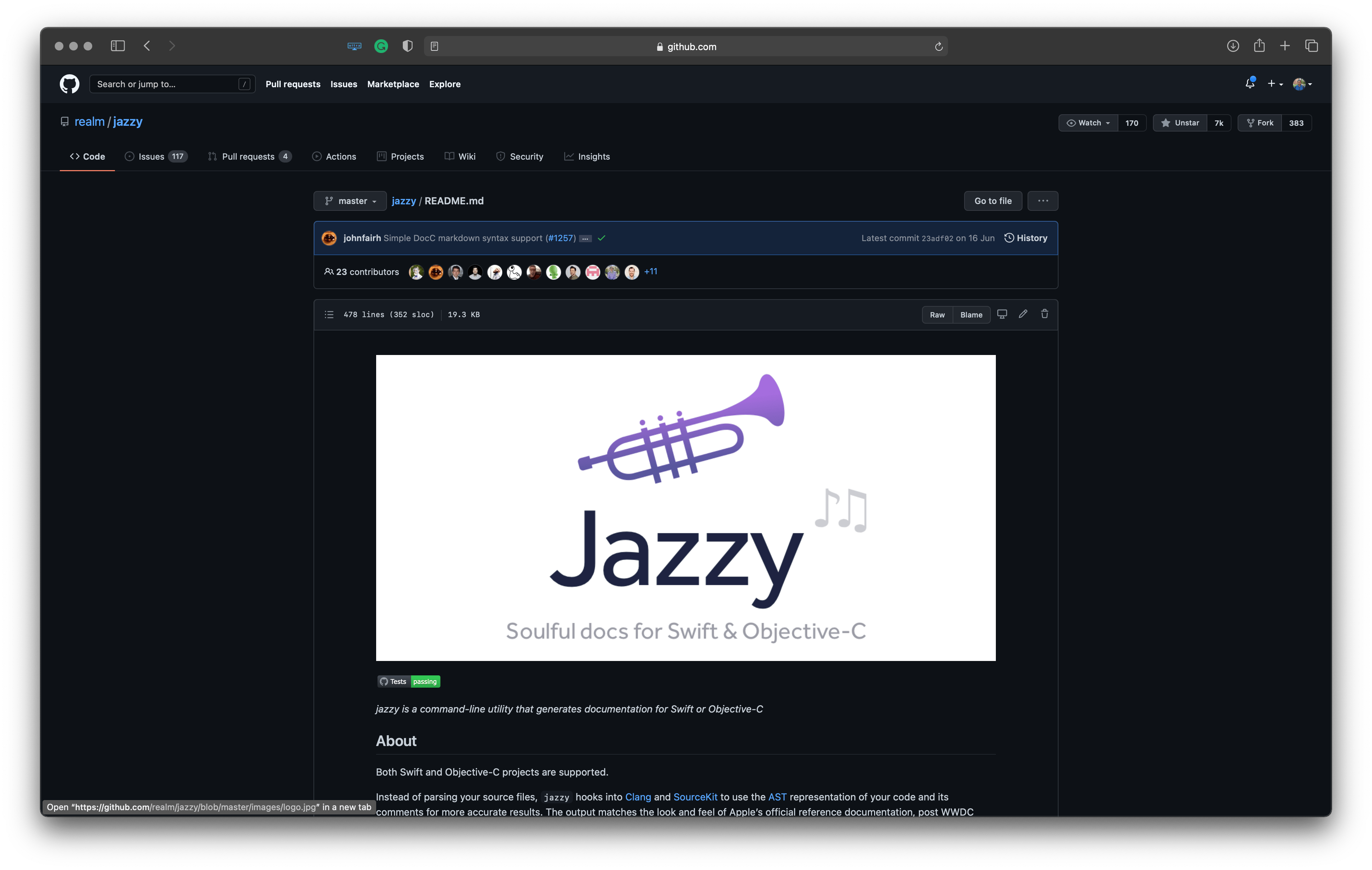Best tools for Apple platforms developers: Jazzy – for soulful docs