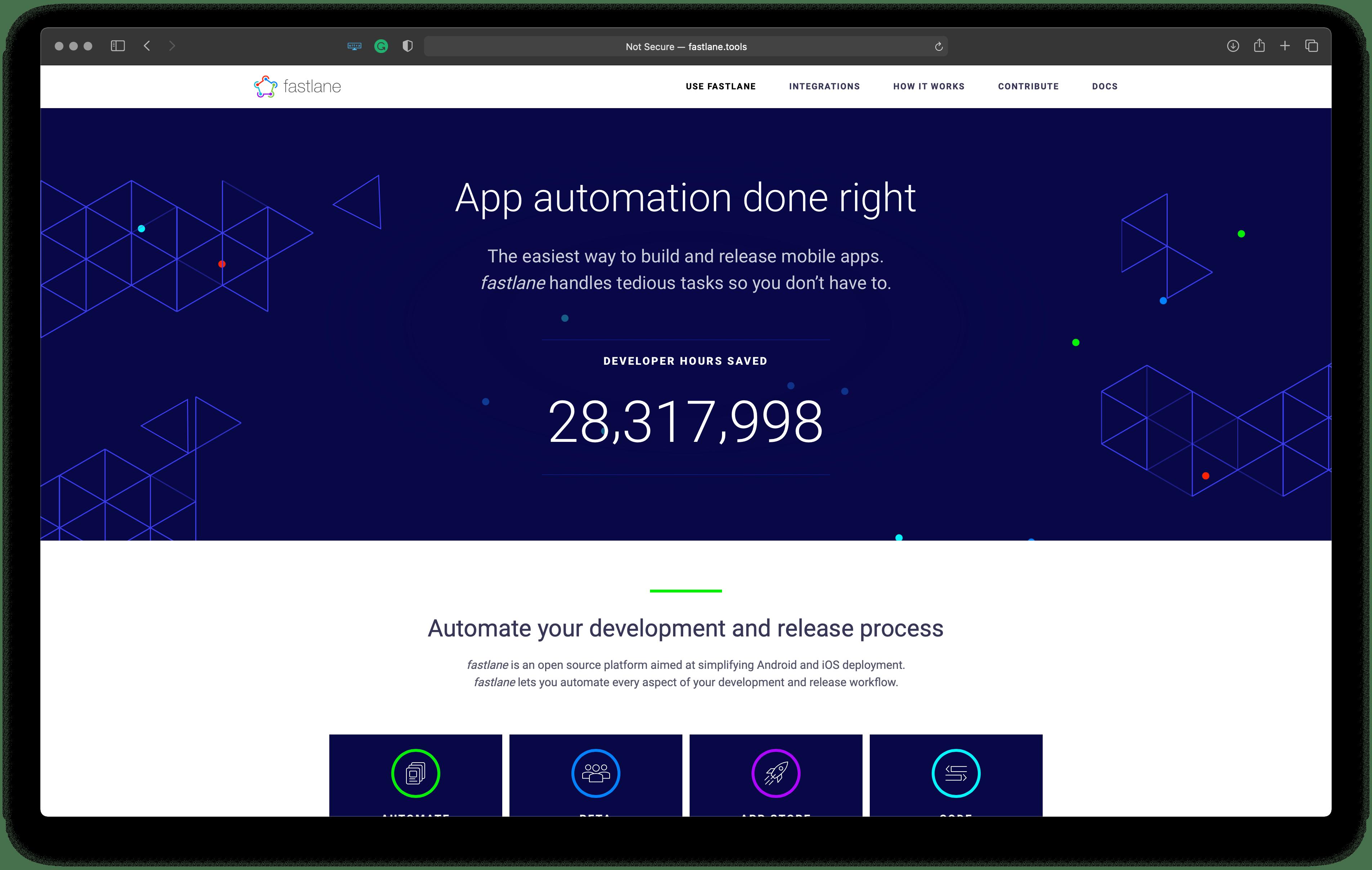 Best tools for iOS developers: fastlane – simplifies Apple platforms deployment