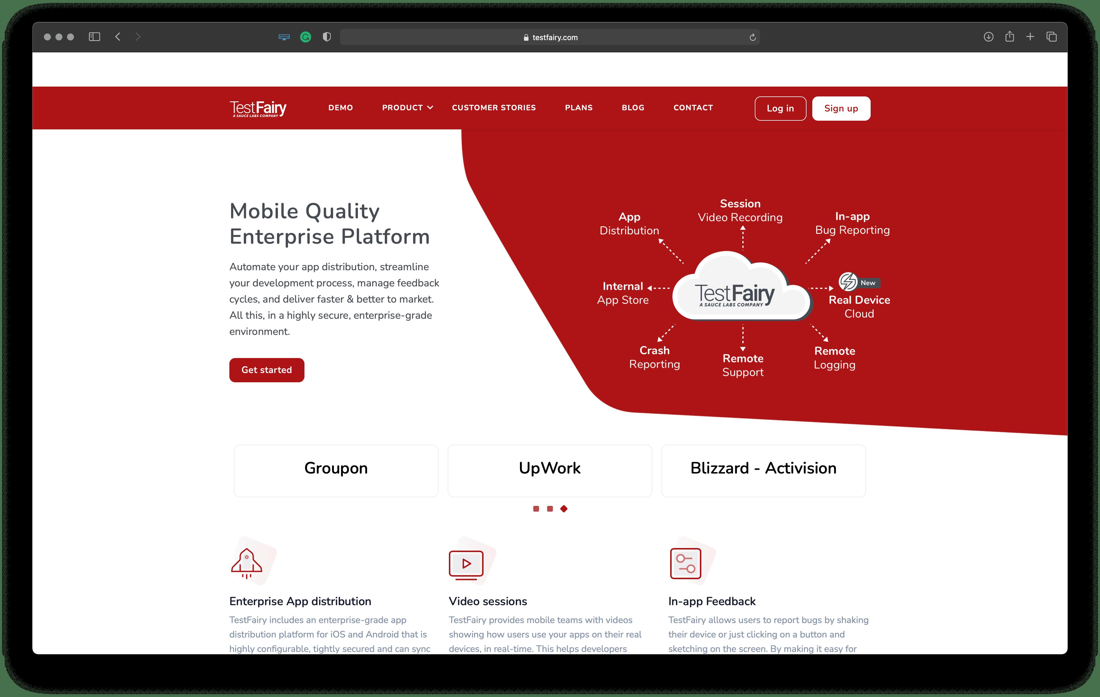 Best tools for Apple platforms developers: testfairy – a mobile testing platform